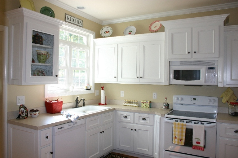 Painted Kitchen Cabinets painting kitchen cabinets - new house painters | painting san